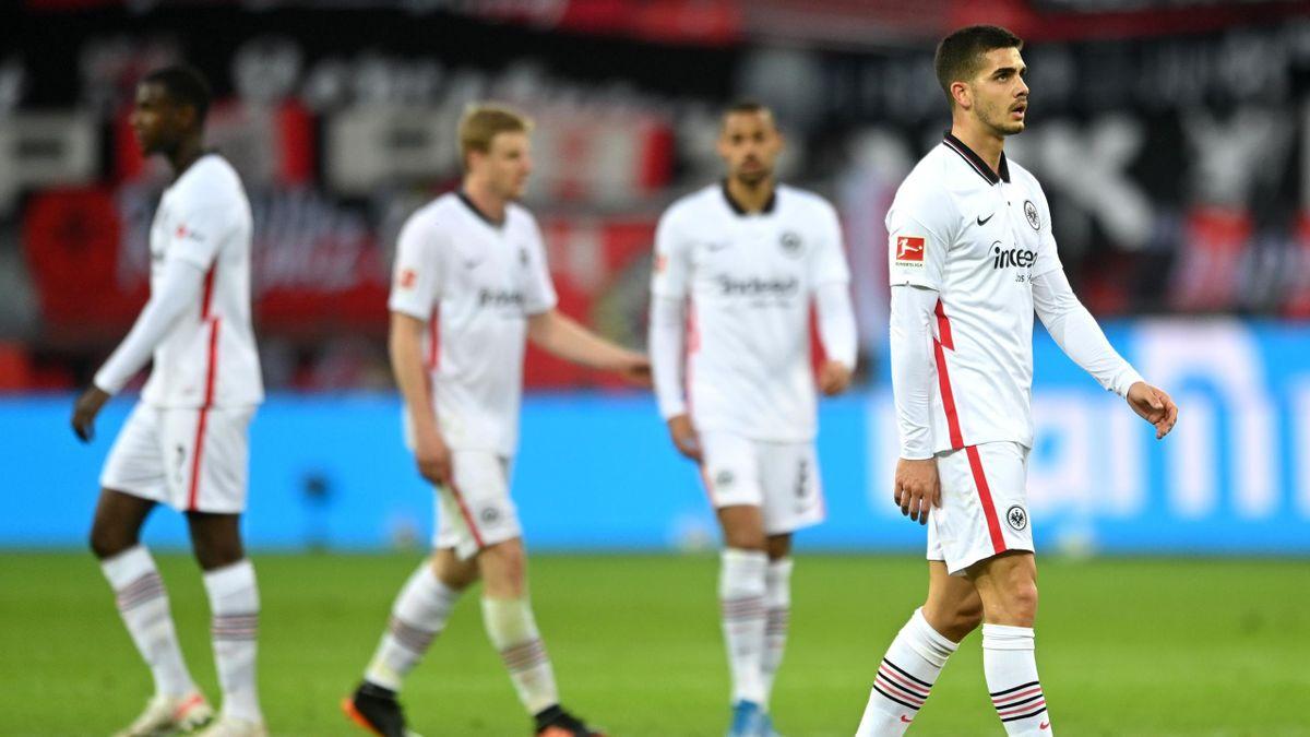 Eintracht Frankfurt verlor gegen Bayer Leverkusen