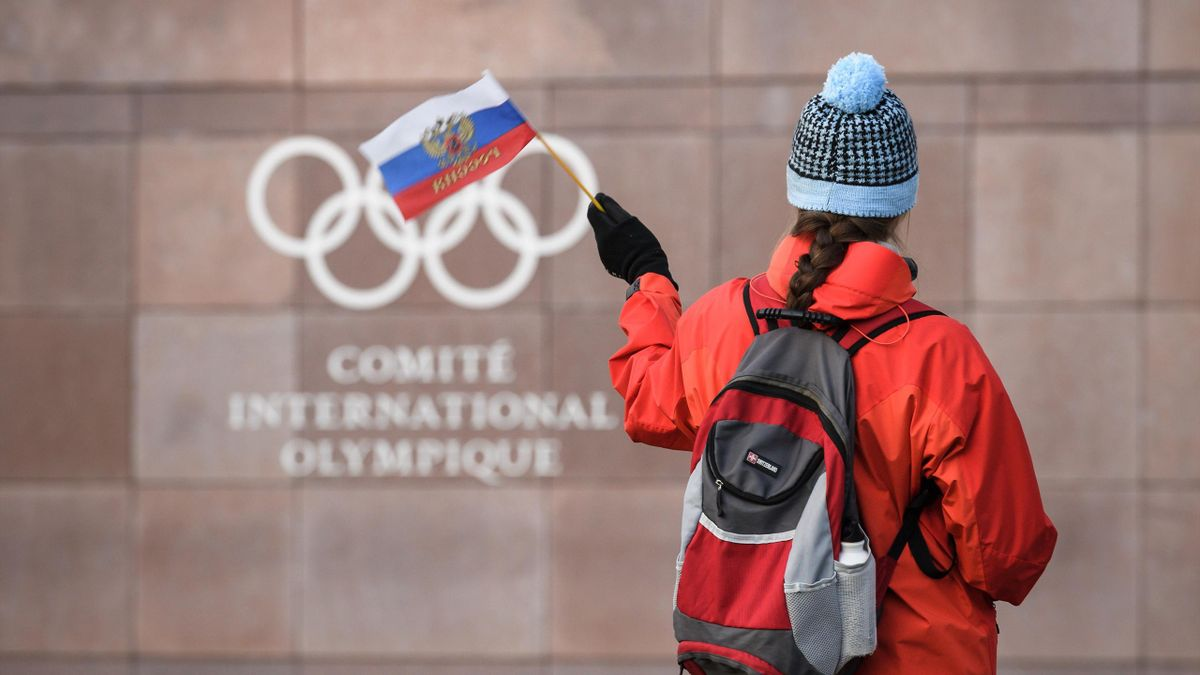 Russia banned from Olympics 2018