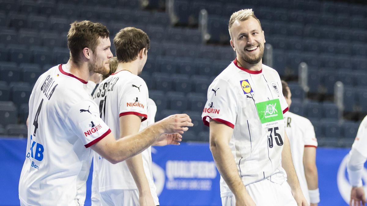 Das DHB-Team peilt bei der Handball-WM zunächst die Hauptrunde an