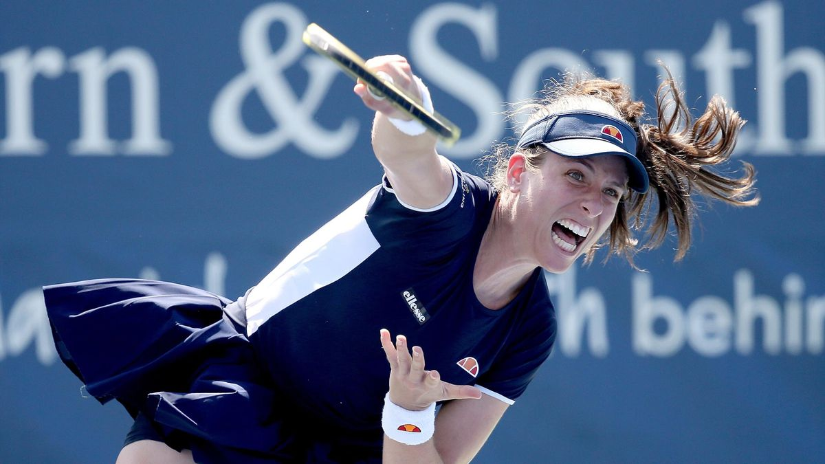 Johanna Konta faces Heather Watson in the US Open first round