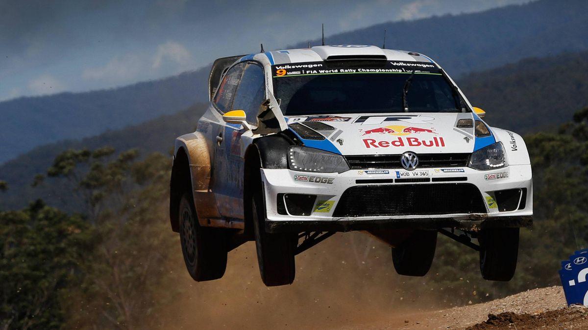 Andreas Mikkelsen bei der letztjährigen Rallye Australia