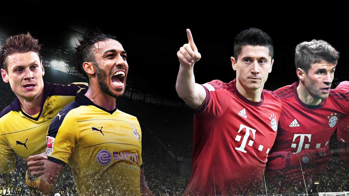 Titel-Konkurrenten Dortmund und Bayern