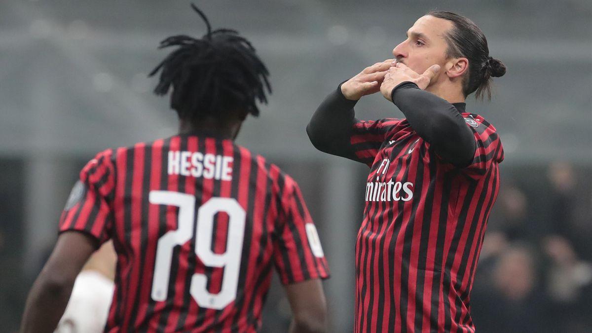 Cristiano Ronaldo, Kessié - Milan-Torino - Coppa Italia 2019/2020 - Getty Images