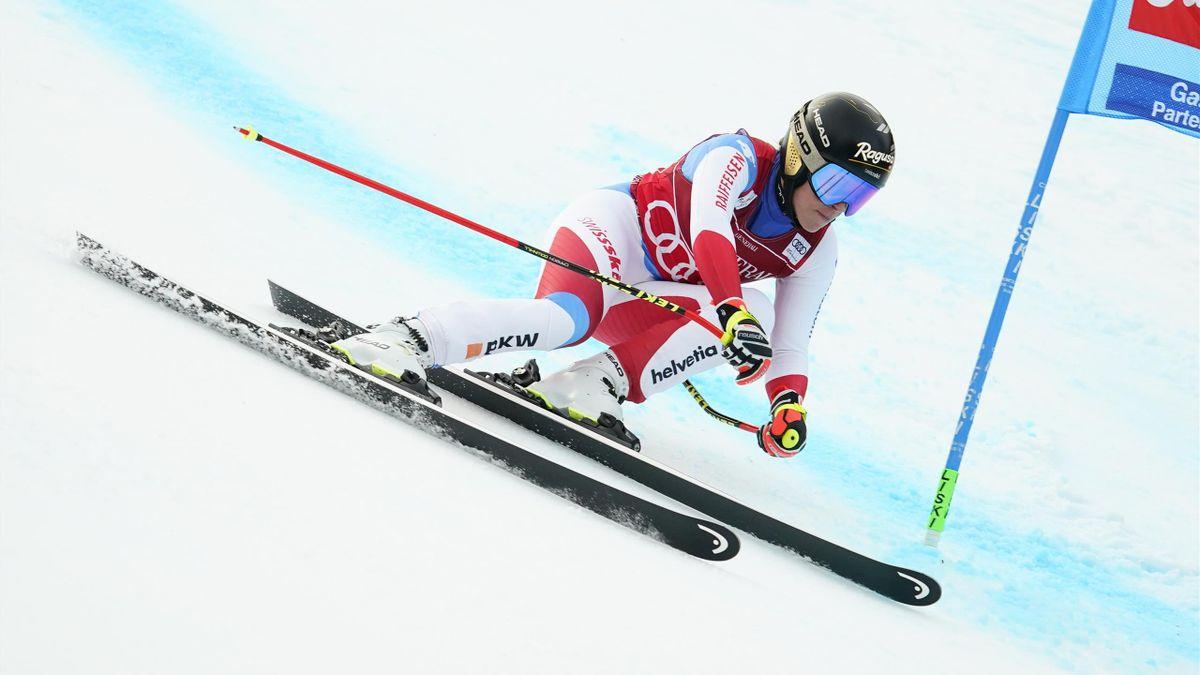 Lara Gut sur le super-G de Garmisch