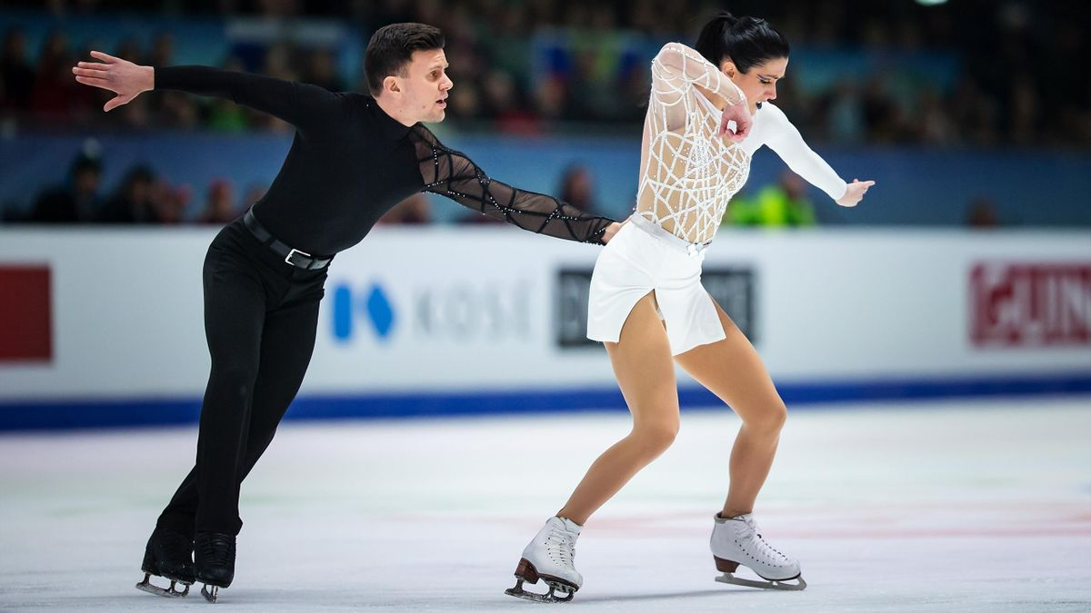 Charlene Guignard, Marco Fabbri - 2020 European Figure Skating - Getty Images