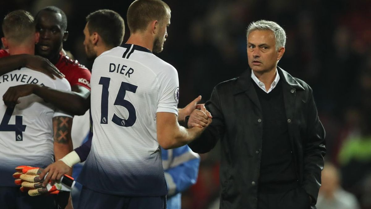 Eric Dier și Jose Mourinho