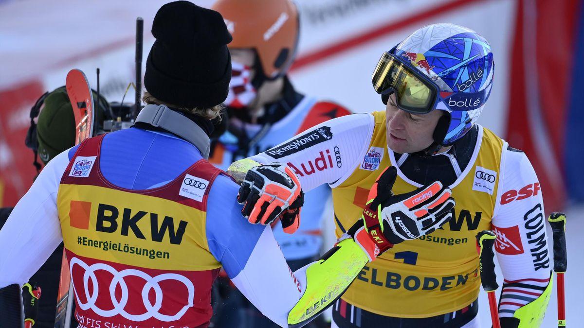 Marco Odermatt et Alexis Pinturault se battront jusqu'au bout de l'hiver pour le dossard rouge de leader en géant