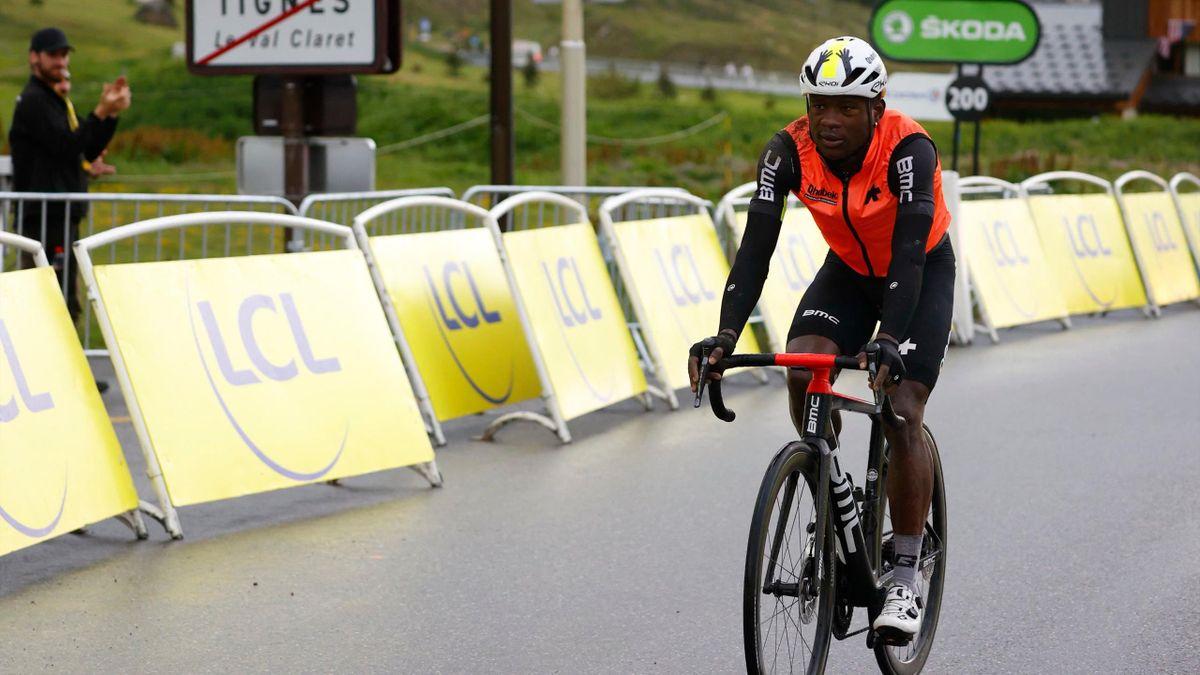 Ambrose Madvulo Dlamini (Qhubeka). Tour de Francia 2021