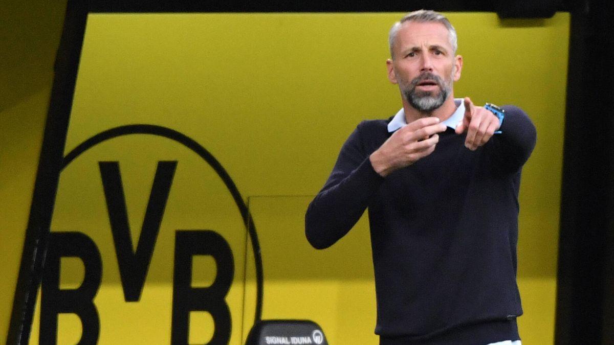 Марко Розе во время матча «Боруссия Дортмунд» – «Боруссия Мёнхенгладбах»