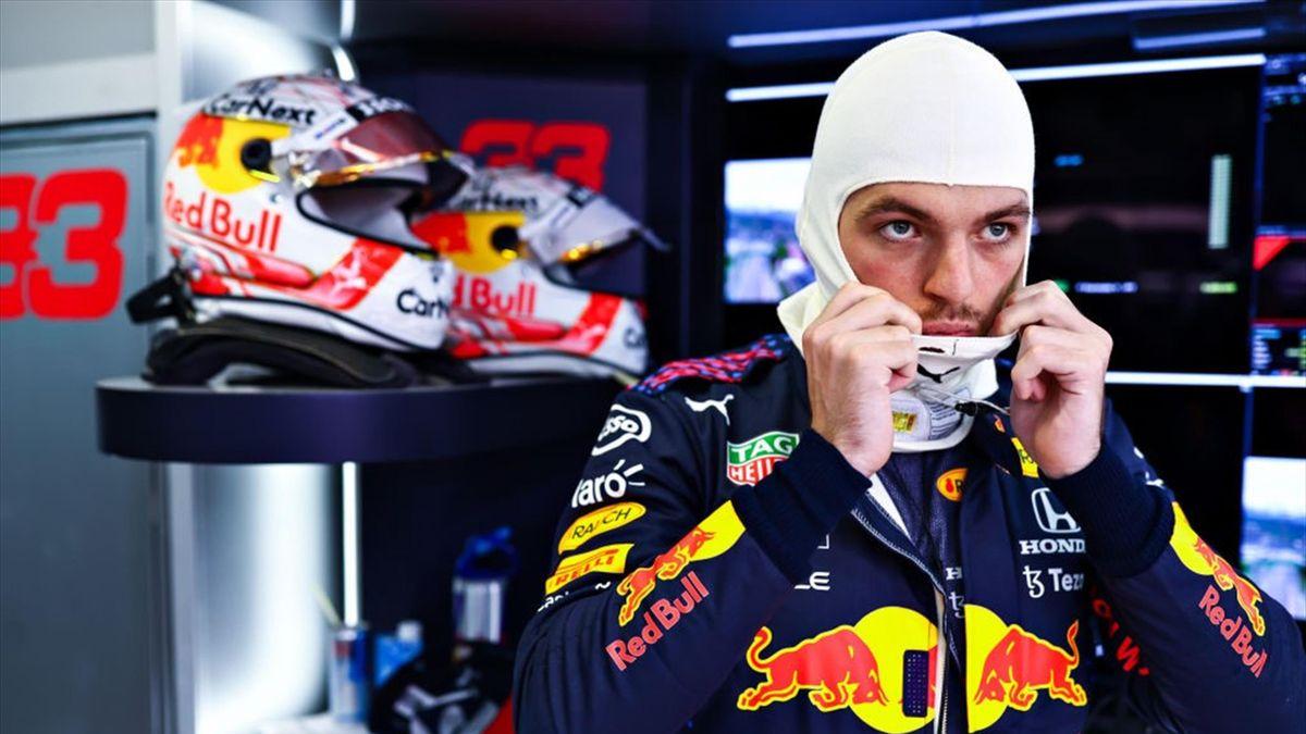 Max Verstappen (Red Bull) au Grand Prix de Russie 2021