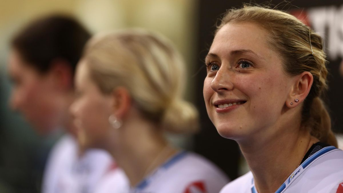 Britain's four-time Olympic champion Laura Kenny