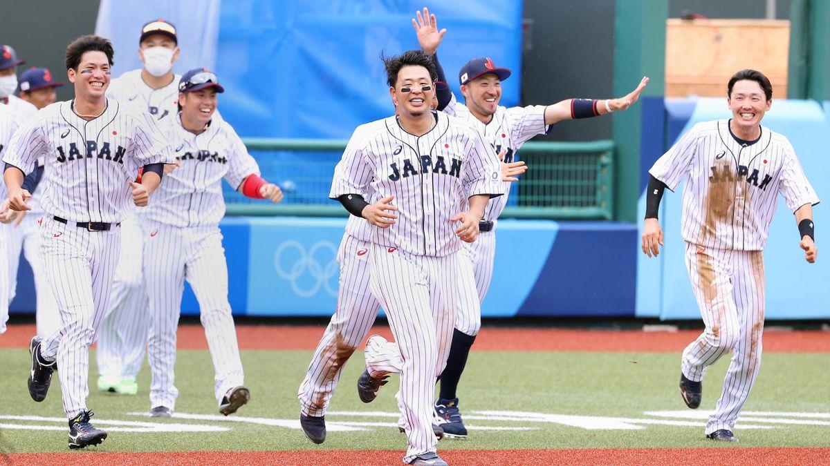 Japans Baseballer starten erfolgreich.