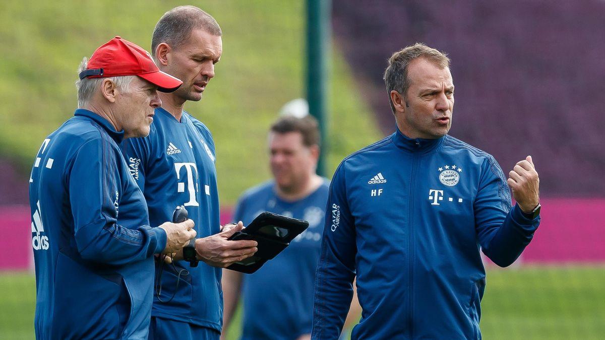 Hansi Flick könnte Hermann Gerland mit zum DFB nehmen