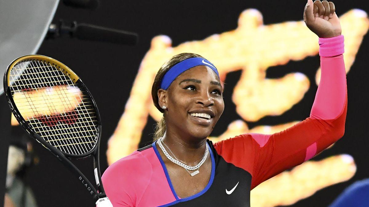 Serena Williams bei den Australian Open