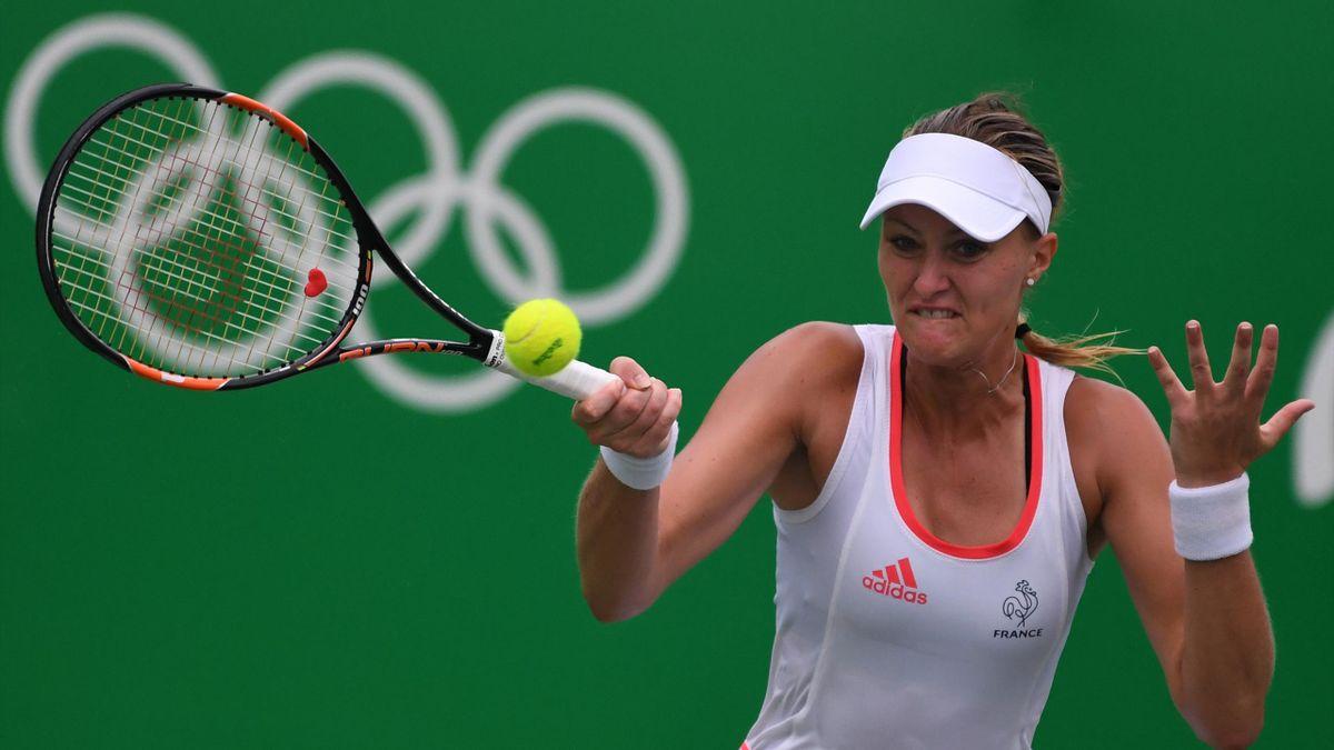 Kristina Mladenovic aux Jeux Olympiques de Rio 2016