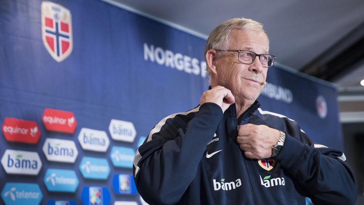 Landslagssjef Lars Lagerbäck