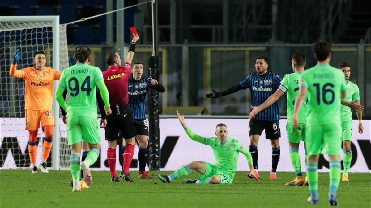 Rosso a Palomino - Atalanta-Lazio - Coppa Italia 2020/2021 - Getty Images