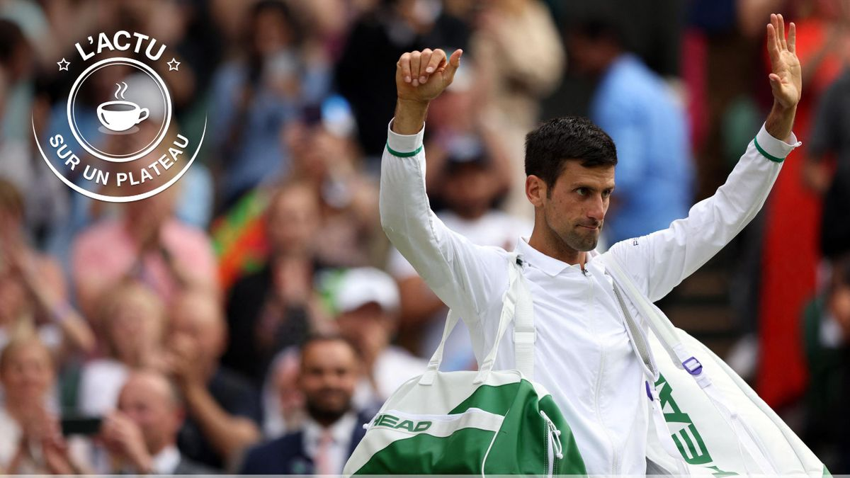 Novak Djokovic rejoint la finale de Wimbledon 2021