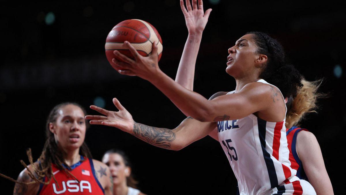 France - USA (Williams), Basketball