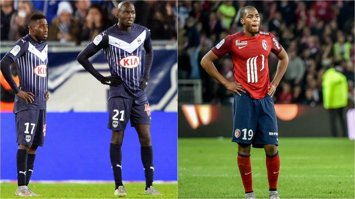 Lille et Bordeaux, deux équipes en grosse difficulté