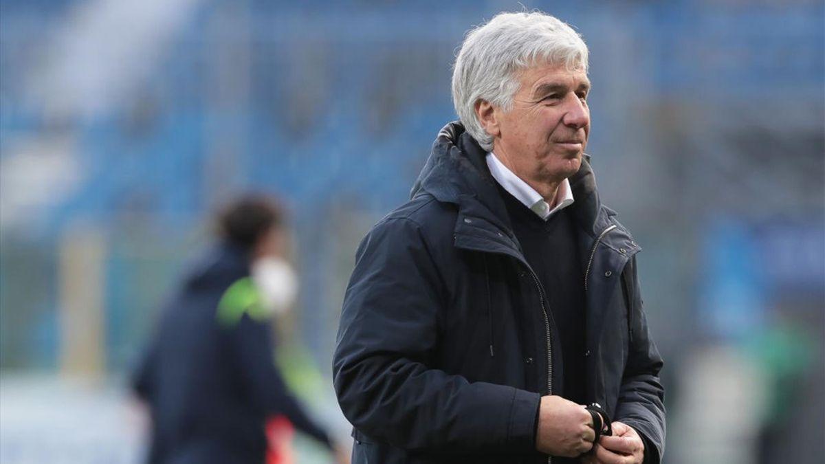 Gian Piero Gasperini - Atalanta-Lazio - Serie A 2020-2021
