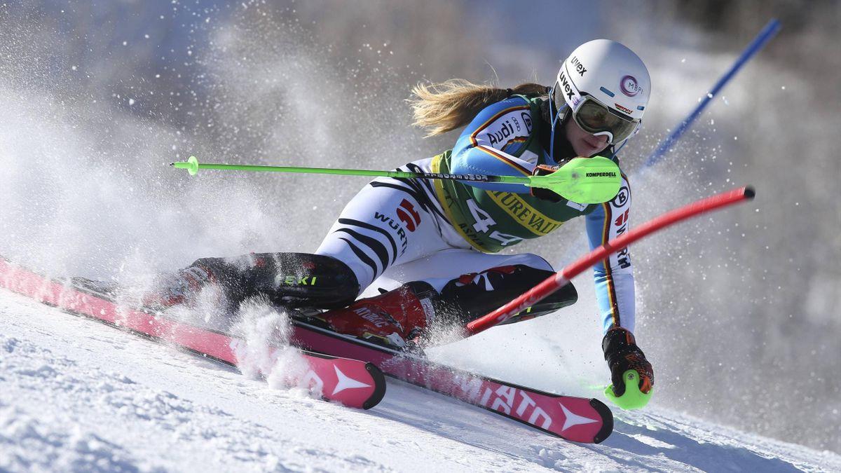 Jessica Hilzinger bei ihrem Weltcup-Debüt in Aspen