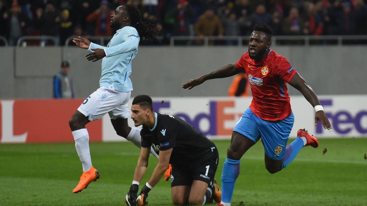 Gnohere, după un gol marcat în poarta lui Lazio