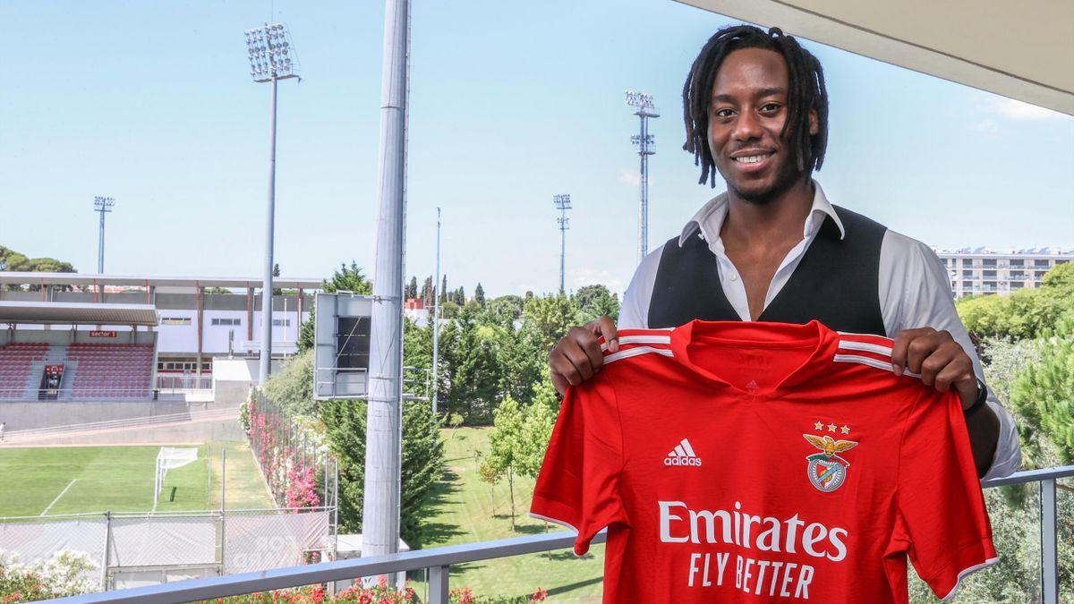 23 luglio 2021, Soualiho Meïté presentato dal Benfica