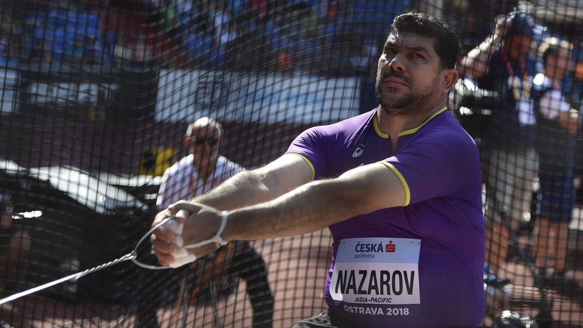 Dilshod Nasarow wurde wegen Dopings gesperrt