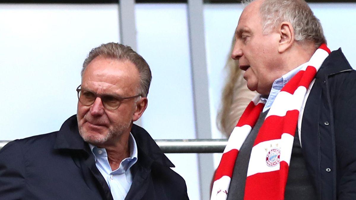 FC Bayern München: Karl-Heinz Rummenigge und Uli Hoeneß