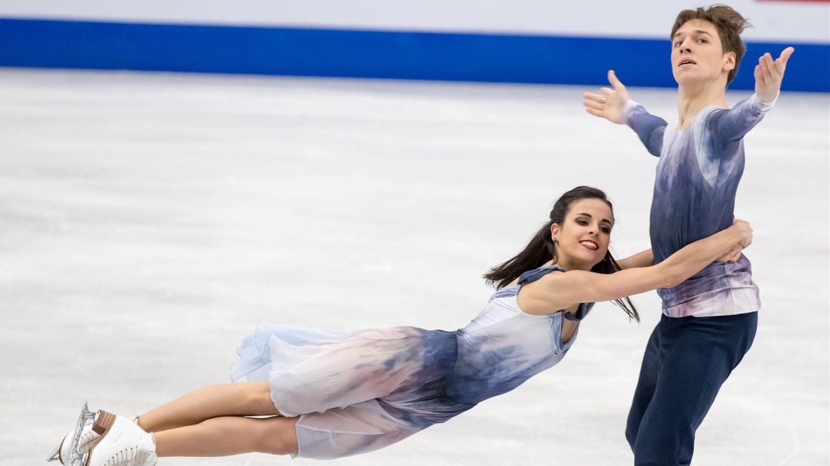 Sara Hurtado y Kirill Khalyavin Patinaje Artístico