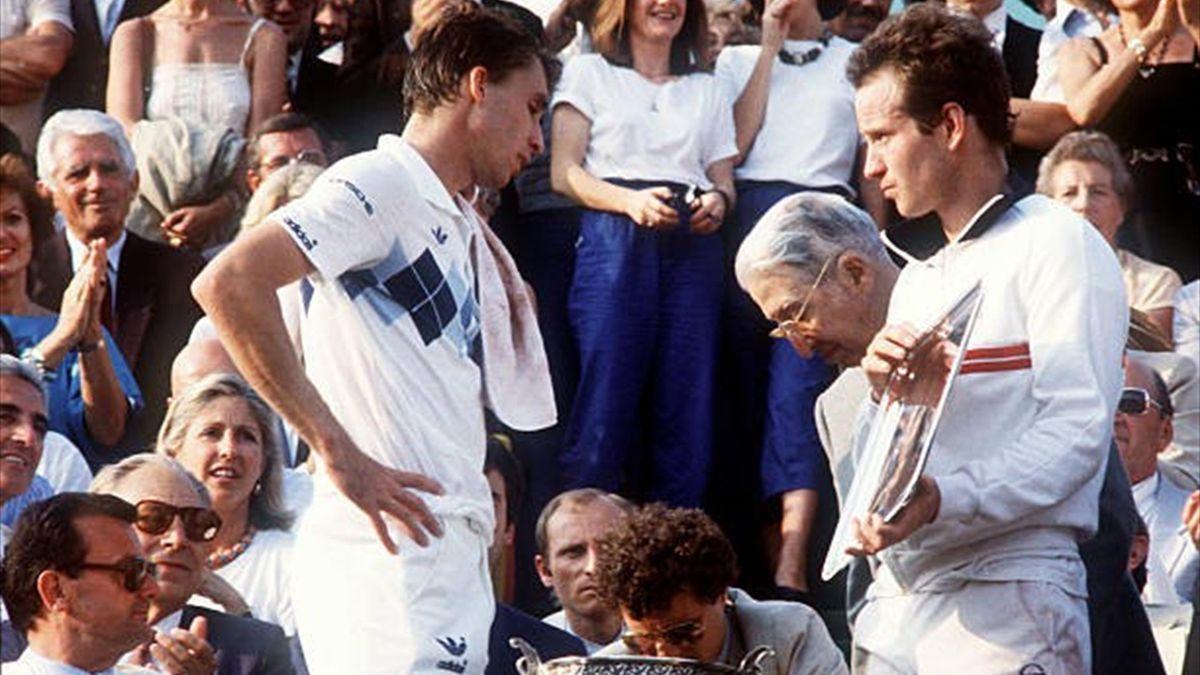 Ivan Lendl - John McEnroe, finala de la Roland Garros (1984)