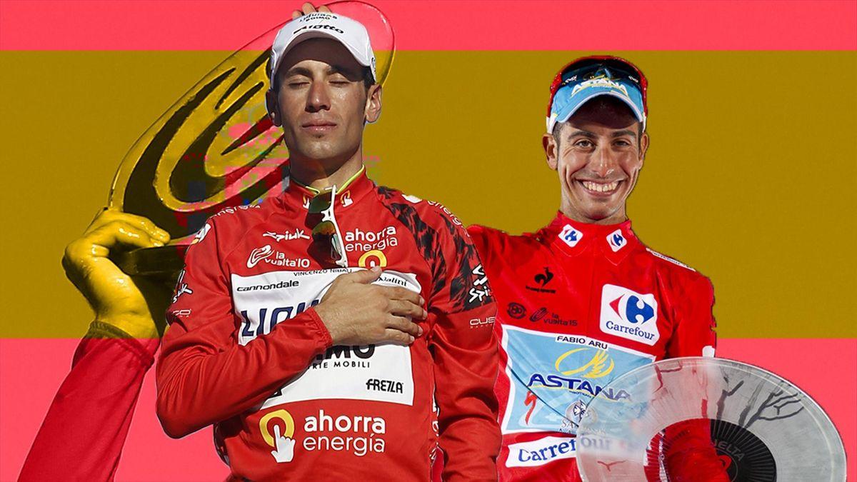 Copertina Vuelta: Nibali e Aru