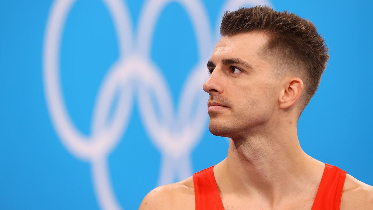 Max Whitlock is trying to defend his Olympic pommel horse title