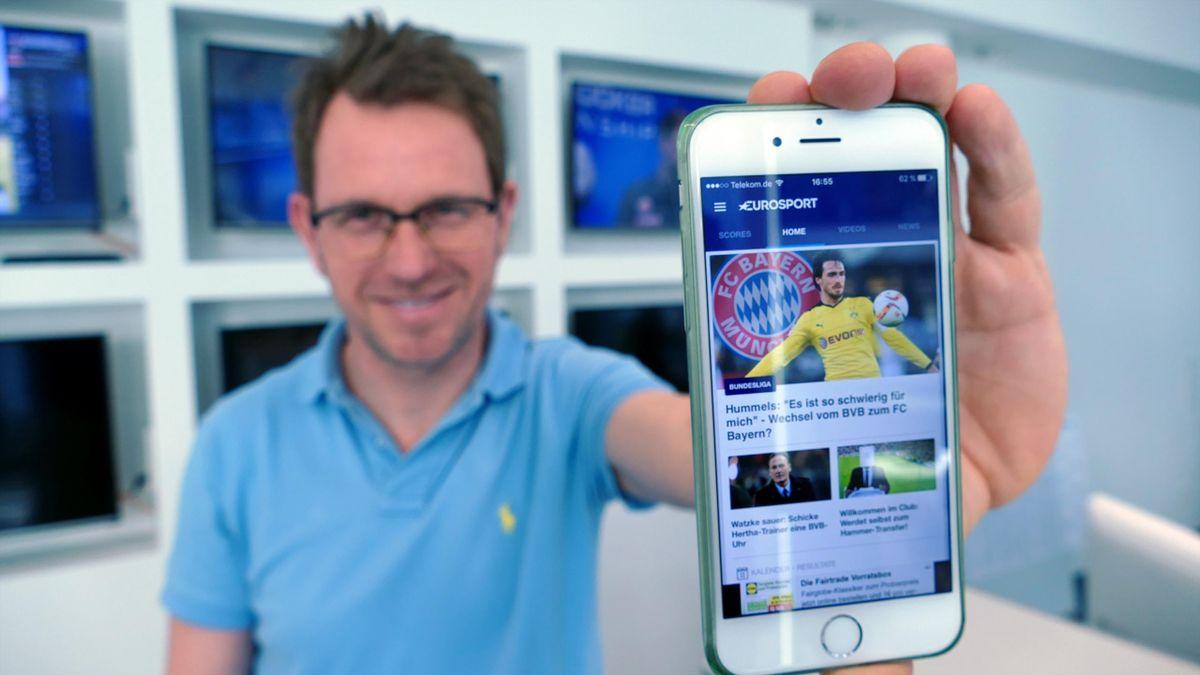 Die Push-News in der Eurosport-App