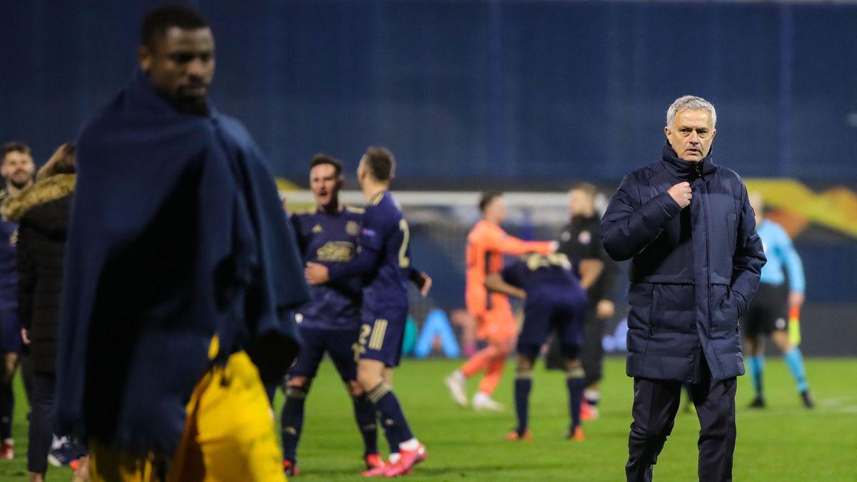 José Mourinho in Zagreb