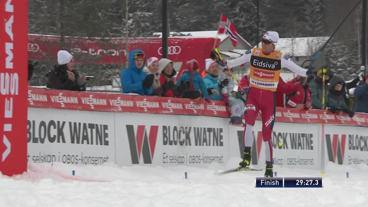 Nordic Combined : 10km men - highlights