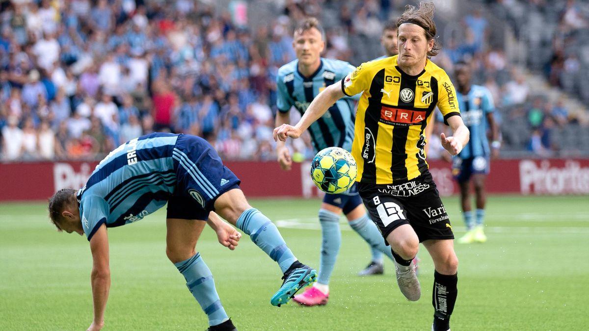 Häcken-spiller Erik Friberg.