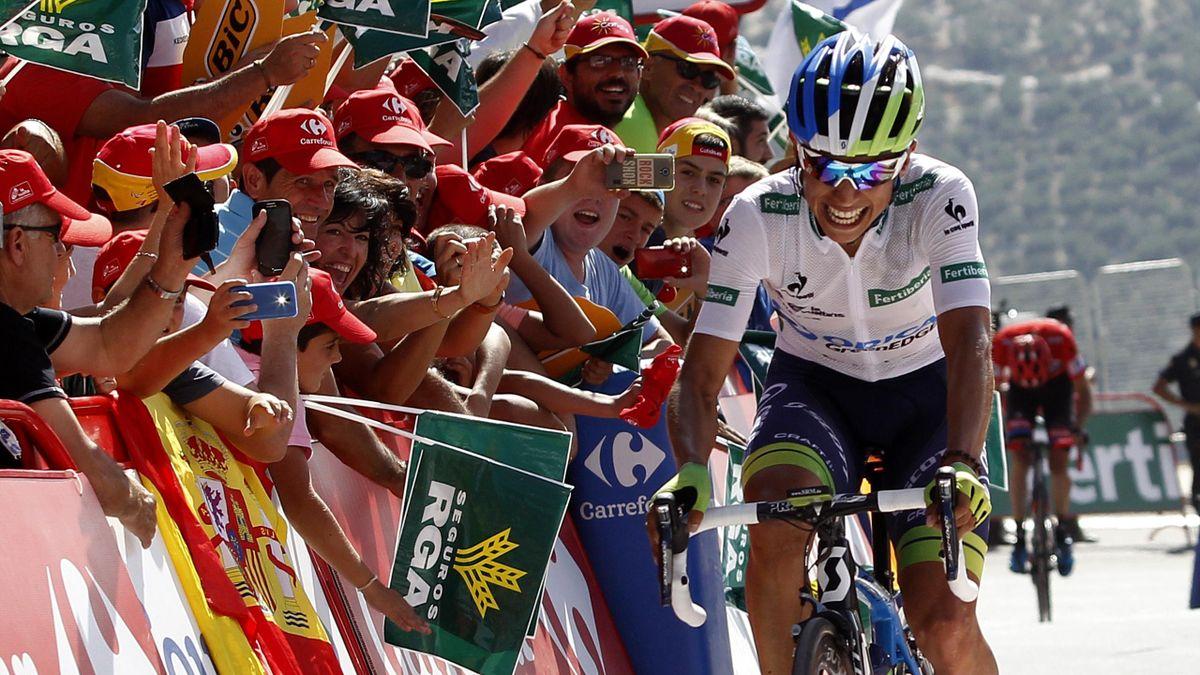 Esteban Chaves (Orica-GreenEDGE) a remporté la 6e étape de la Vuelta 2015.