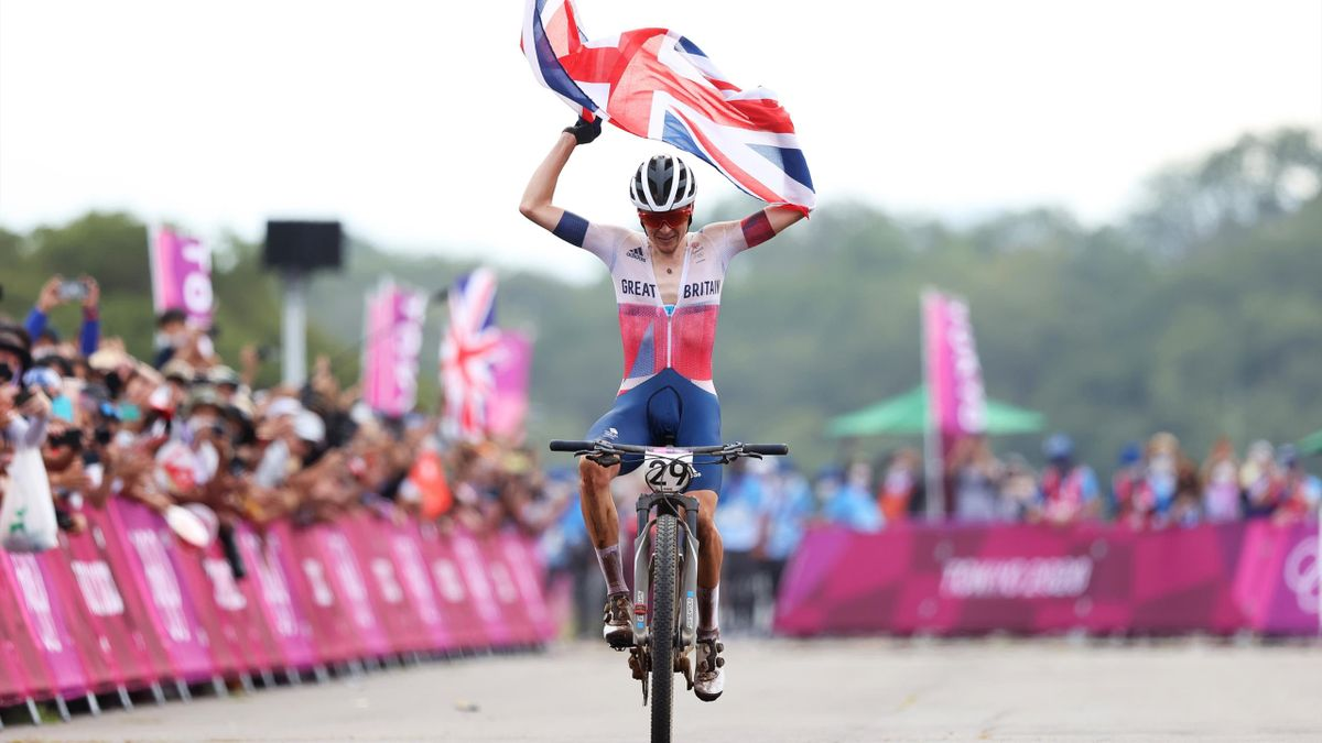 'What a ride!' - Imperious Pidcock wins mountain bike gold for Team GB