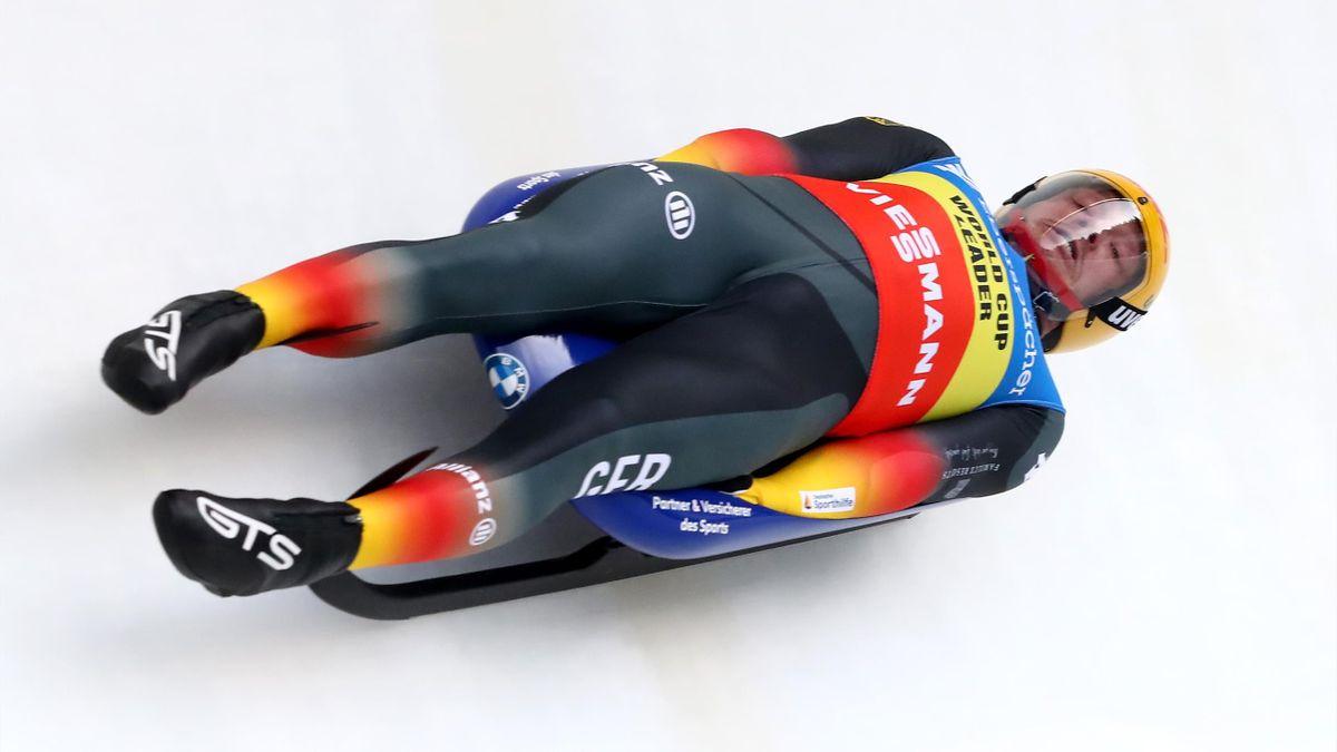 Felix Loch ist Rodel-Europameister 2021