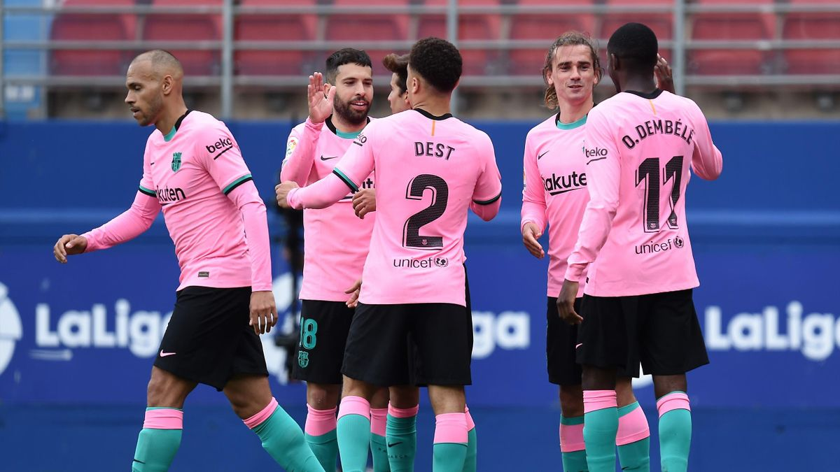 Le Barça d'Antoine Griezmann s'est imposé à Eibar