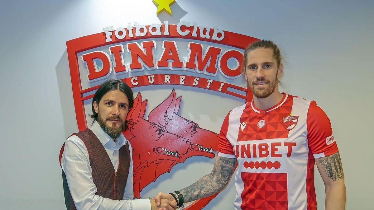 Raul Albentosa, prezentat oficial la Dinamo