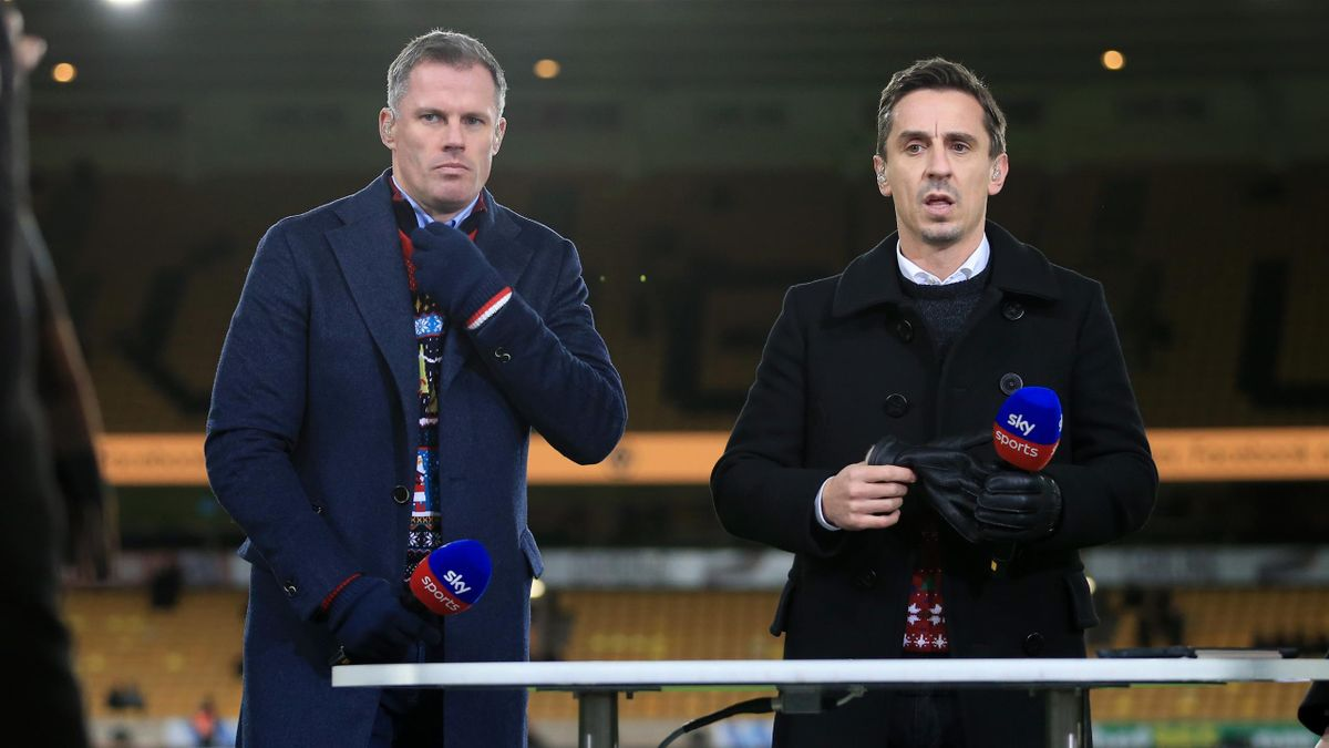Liverpool and Manchester United legends Jamie Carragher and Gary Neville have called for the club's owners to go
