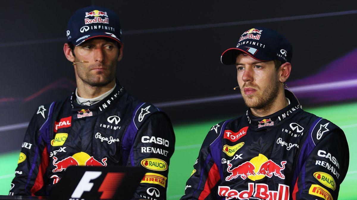 Webber és Vettel a 2013-as Maláj Nagydíjon