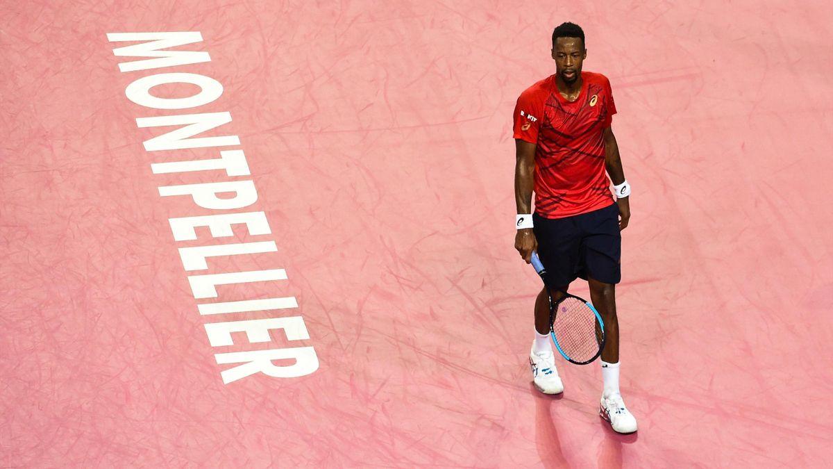 Gaël Monfils au tournoi ATP de Montpellier 2020