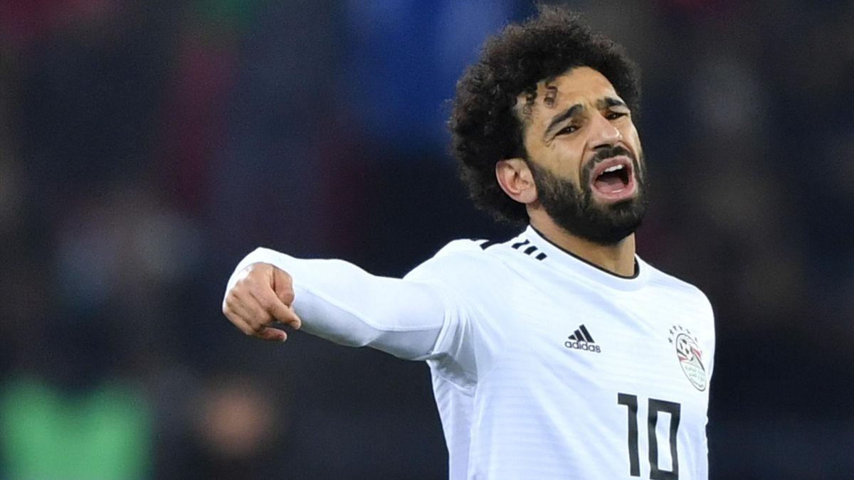 Mohamed Salah im Trikot von Ägypten