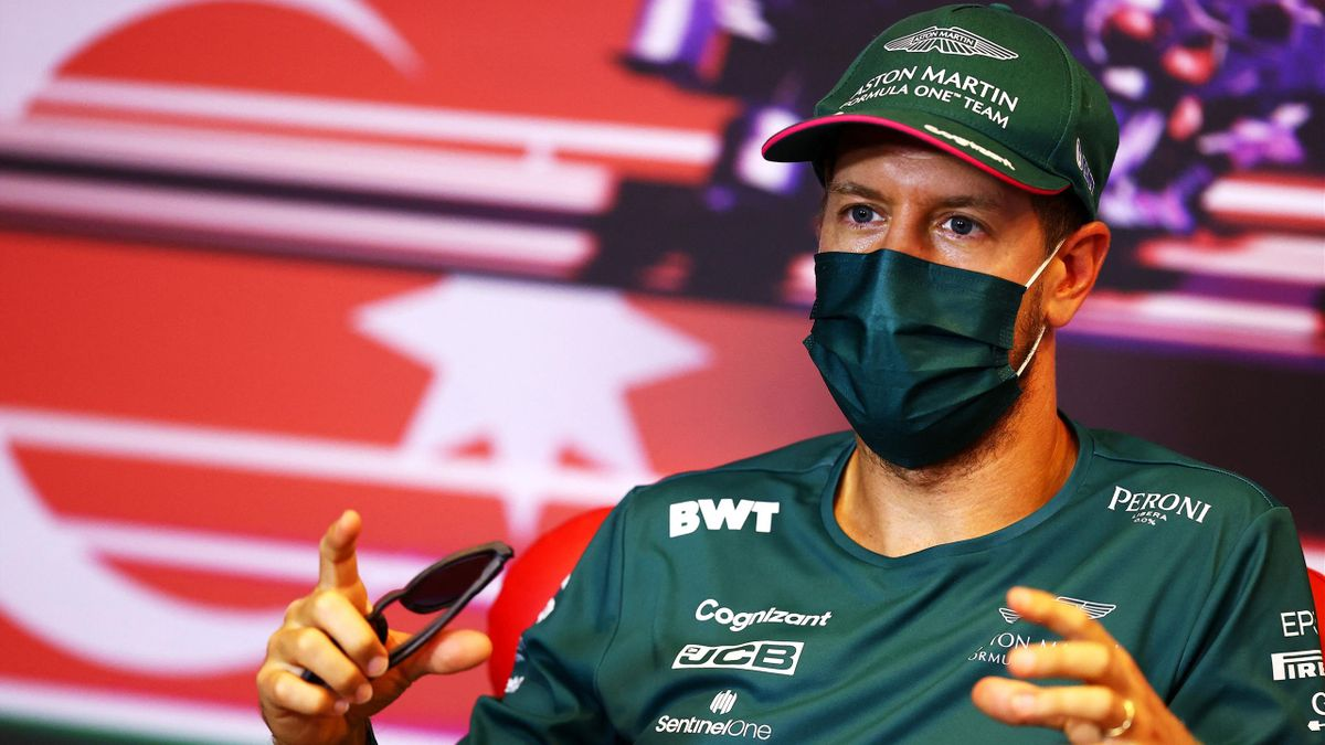 Sebastian Vettel (Aston Martin) kritisierte den Neustart in Baku