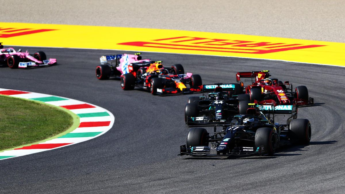 F1-Start in Mugello
