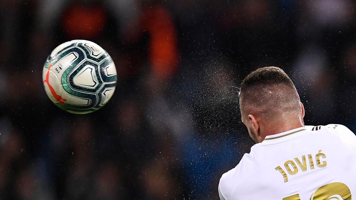 Jovic en el Real Madrid-Leganés